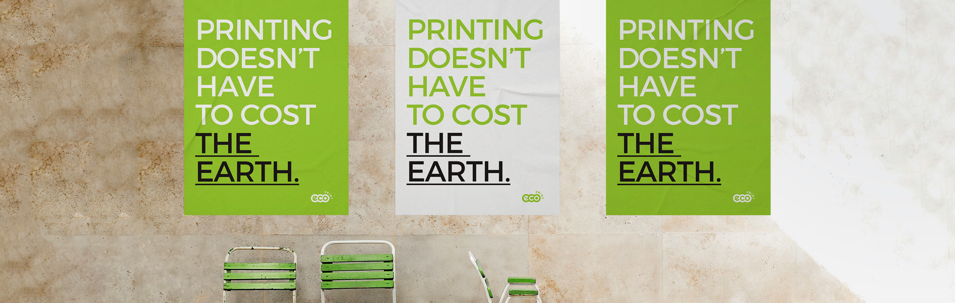 Ecoprint. Printing doesn't have to cost the Earth